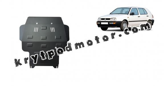 Kryt pod motor VW Golf 3
